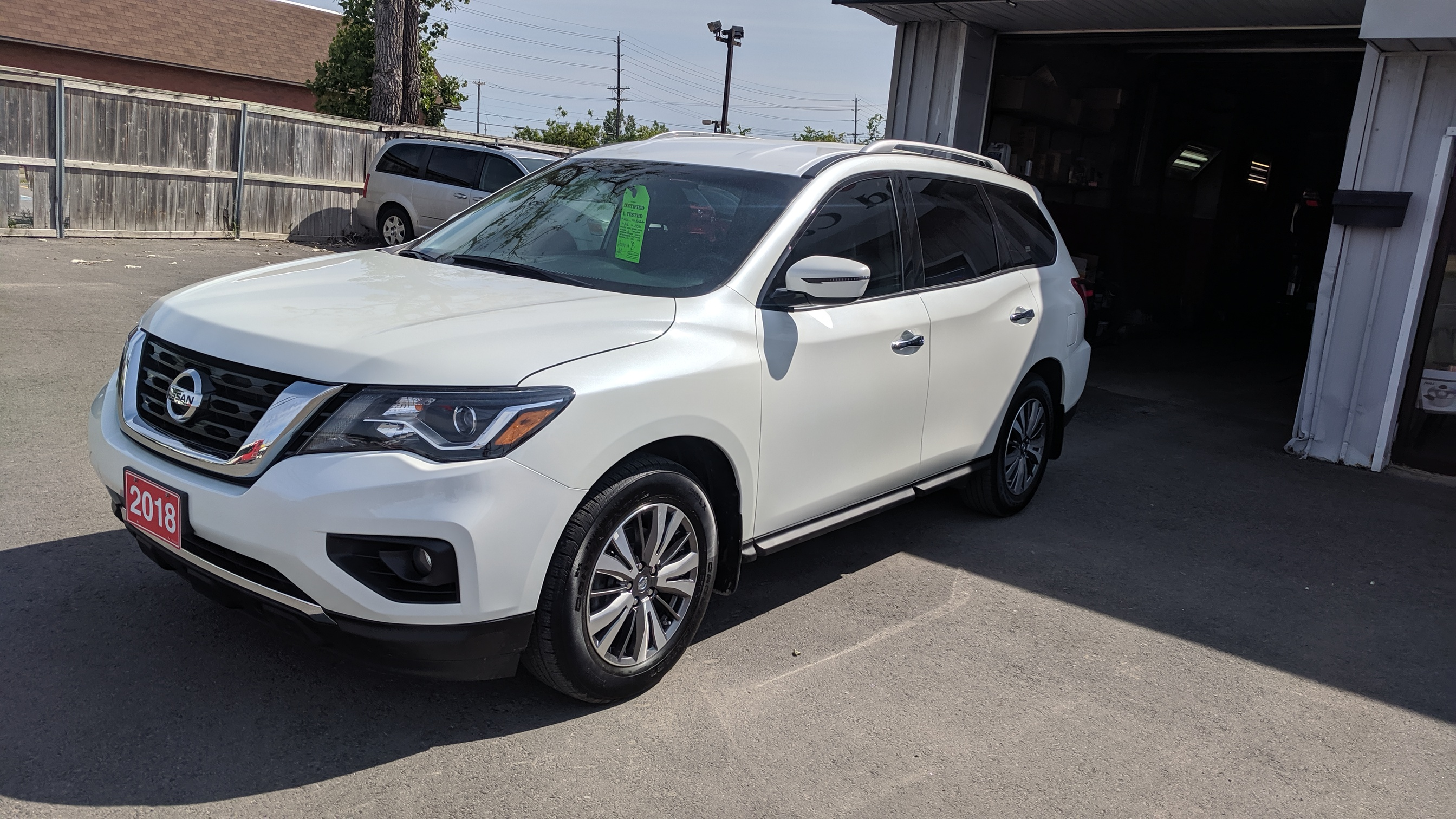 2018 Nissan Pathfinder Sv Tech Awd Sold Bisan Auto
